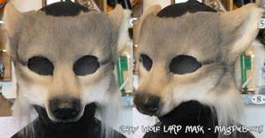 Grey Wolf LARP Mask