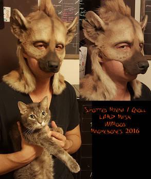 Spotted Hyena/Gnoll LARP mask