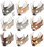 Some stags by Magpieb0nes