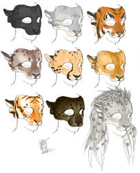 Some Cats by Magpieb0nes