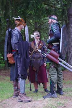 Muntjac-kin, Deer-kin and Mystic Wood Elf