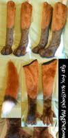 Dark Red Fox Accessories