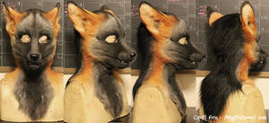 Cross Fox head