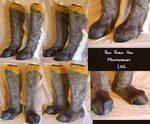 Red River Hog Feet