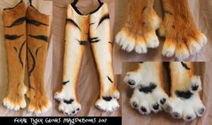 Tiger Feral Gloves