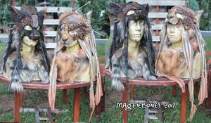 Wasteland Beasts Masks