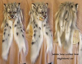 Shaman Snow Leopard Headdress