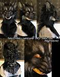 Werewolf LARP Mask  (SOLD)