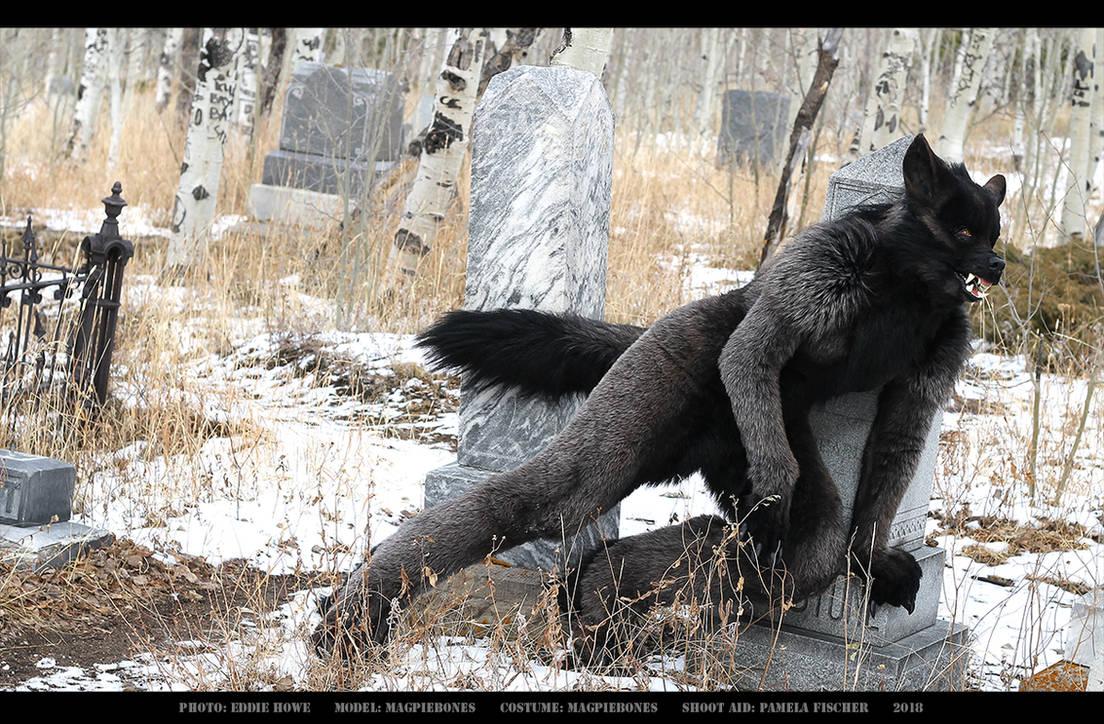 Werewolf: Graveyard shoot 001 by Magpieb0nes