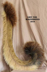 Lion Tail by Magpieb0nes
