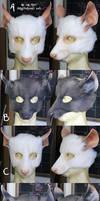 Rat LARP Masks