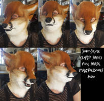 Soft Style (LARP SAFE) Fox mask ***FOR SALE***
