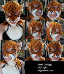 Larp Tiger Mask- modeled by Magpieb0nes