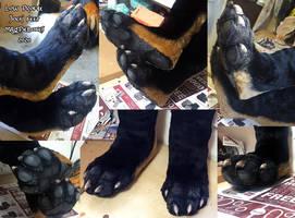 Low Profile 'Sock' Feet