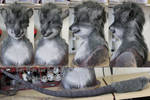 Soft Style Rat Head and Tail Set (SOLD)