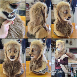 Lion Head and Tail Set (SOLD)