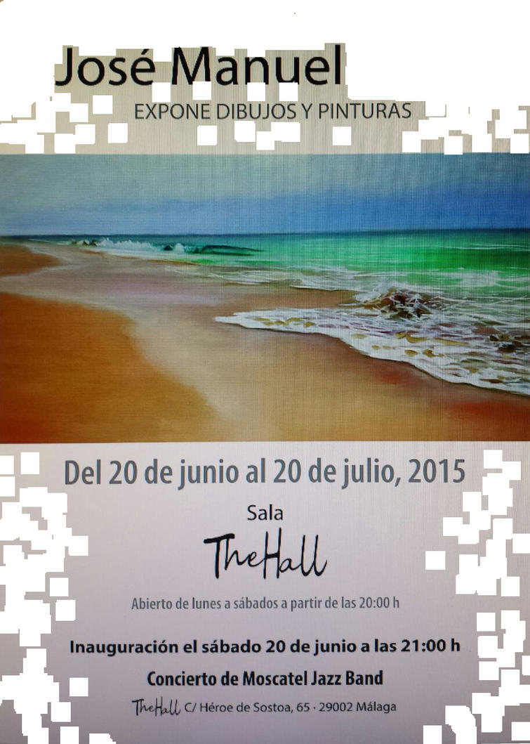 New Art Exhibition, 20th June 2015 by josedelsol