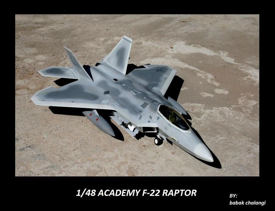 F-22 Raptor by NightRaven1