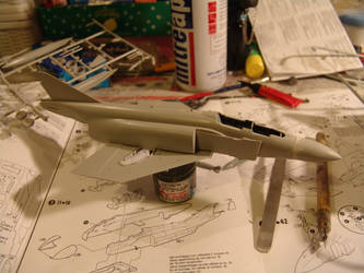 IRIAF F-4D WIP by NightRaven1