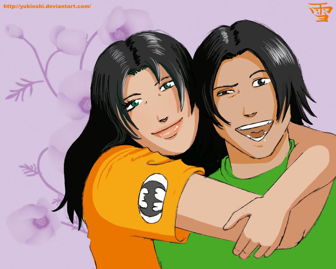 Jessica and Jason by YukiOshi