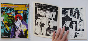 Sons of cemetery, my comic in an American fanzine