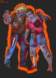COMMISSION, zombie love