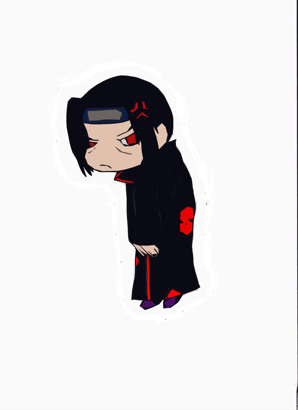 Pin Up: Itachi by camio105