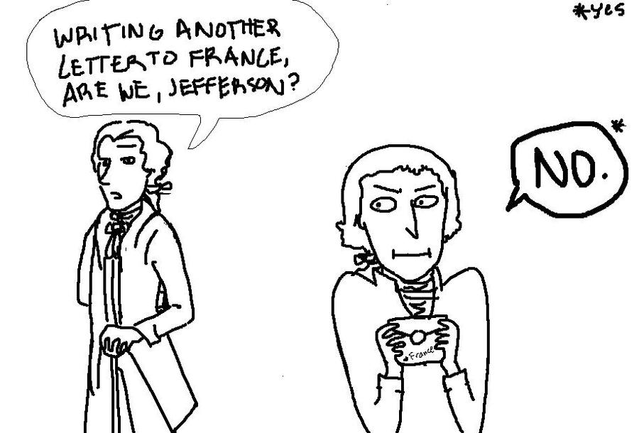 Jefferson's Secret Love by camio105