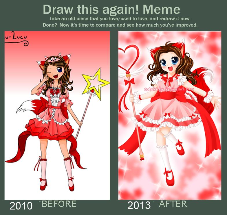 Draw This Again Meme: Lucu-Lucu by cutekirby