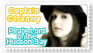 Captain Channy Stamp