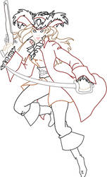 Lady Barbossa Outline