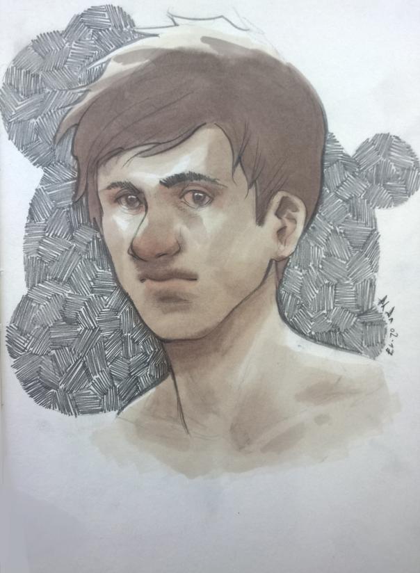 Portrait #1 by Pinadtsu