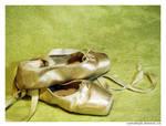 Old Ballet Shoes 2