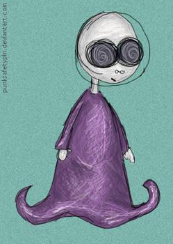 Alien on drugs