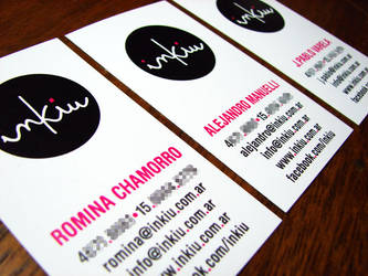inkiu Business Cards by punksafetypin