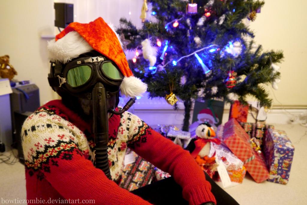 Pilot's Christmas - II by BowtieZombie