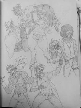 OC scribbles