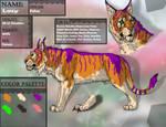 Lacy aka LionnessOfLove Reference Sheet