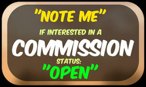 Note Me: Commissions OPEN