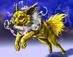 #135: Lightning Warden by LionnessOfLove