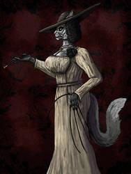 Lady Dimitrescu: Feline Fatality