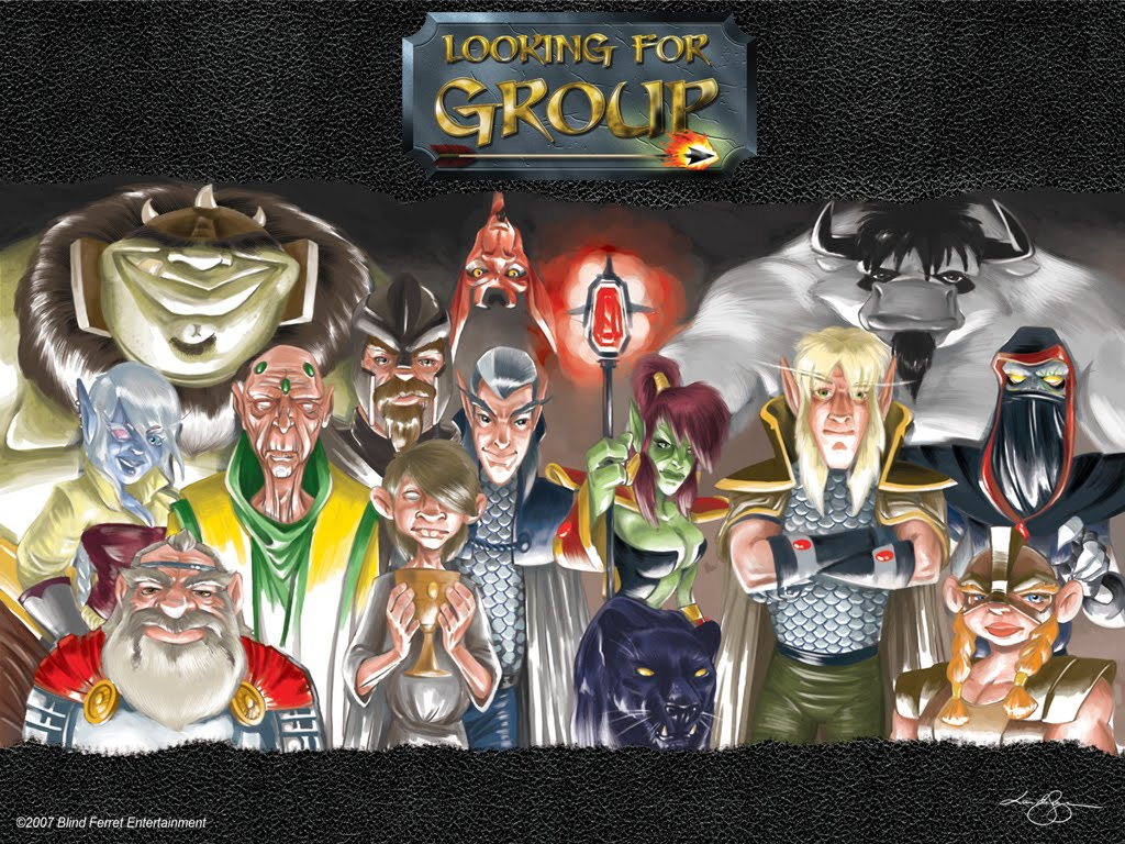 Descubre Looking For Group (Spanish) by TheDrailusX
