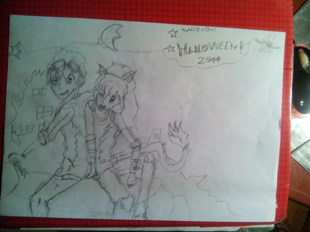Halloween 2014 ~ by TheDrailusX