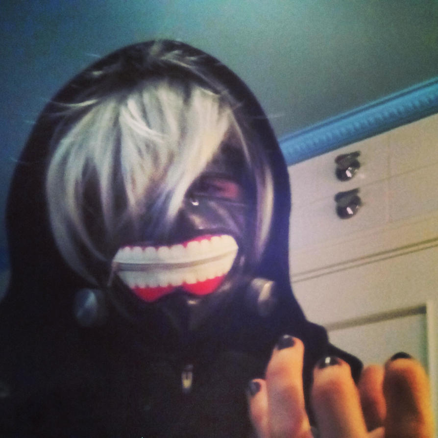Kaneki Ken Tokyo Ghoul Cosplay (16) by TheDrailusX