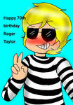 Happy 70th birthday Roger Meddows Taylor