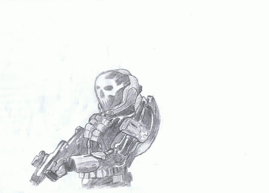 how to draw halo reach emile