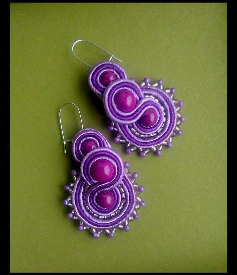 Soutache - violet by Ankh666sunamun