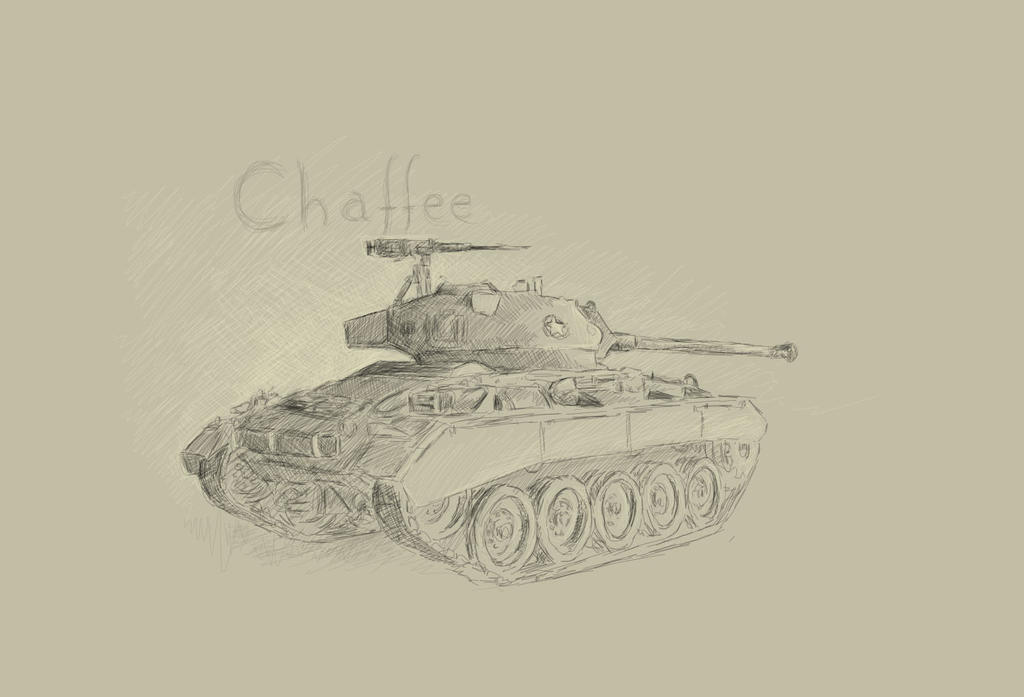 WorldOfTanks - Chaffee by Ankh666sunamun