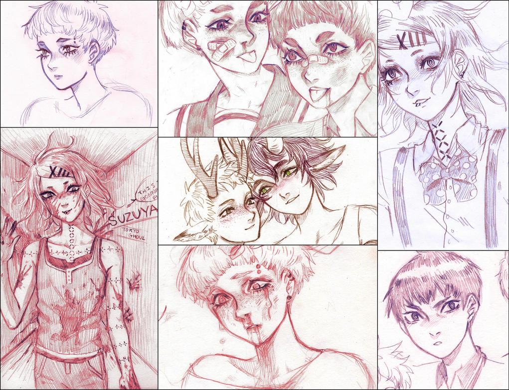 doodle dump 2 by VocaloidMist