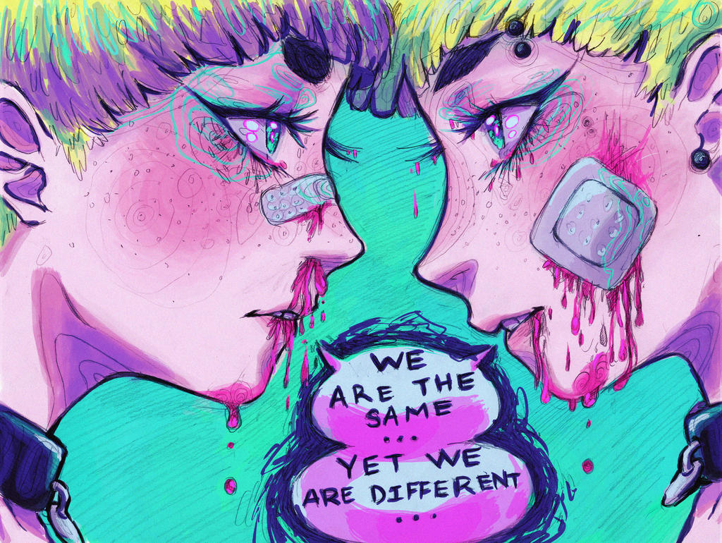 we are the same by VocaloidMist
